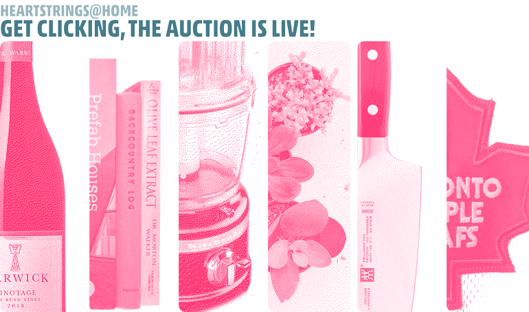 Heartstrings@HOME auction